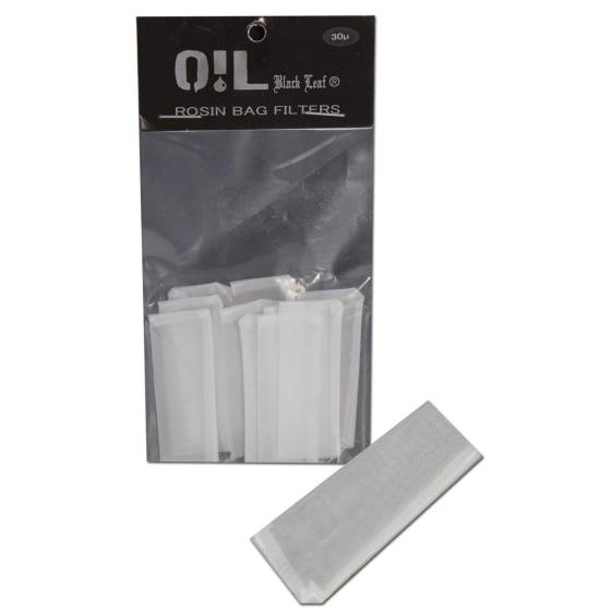 Oil Black Leaf Rosin Bag Filterbeutel 10Stk., 50 micron, 50x20mm, Gr. S