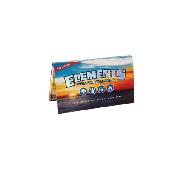 Elements Single Wide, 100 kurze Blättchen