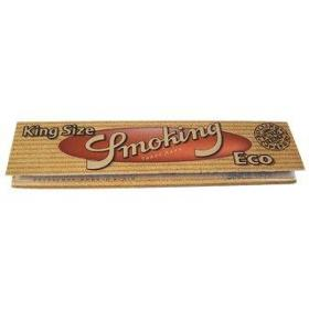 Smoking Eco King Size slim, Hanfpapier, 33 Blatt