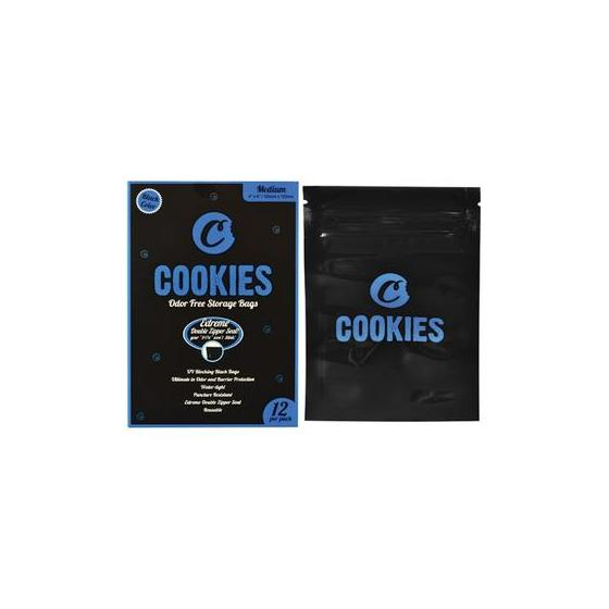 1 x Cookies Sack black medium (M), 102mm x 152mm, geruchsfrei