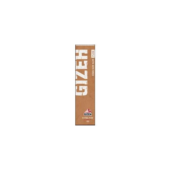Gizeh KS Slim Papers Pure eco friendly