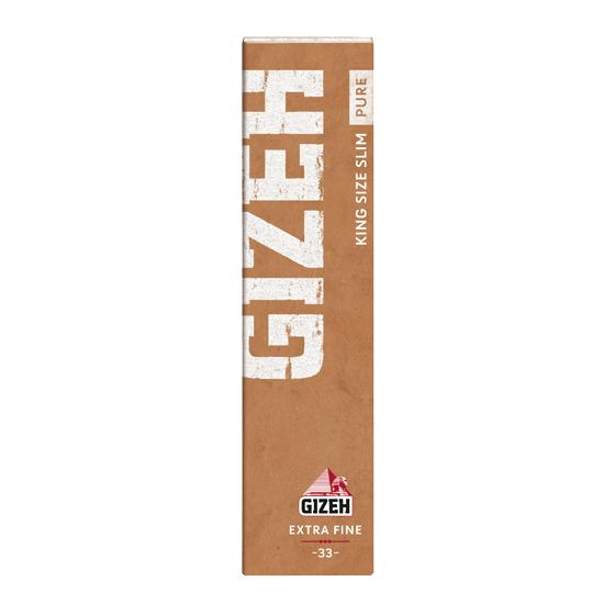 Gizeh KS Slim Papers PURE mit Tips (eco friendly)