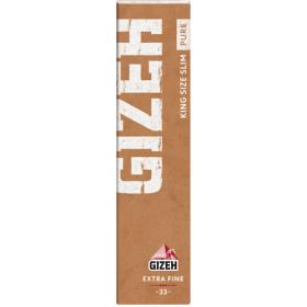 Gizeh KS Slim Papers PURE mit TIP´s (eco friendly)