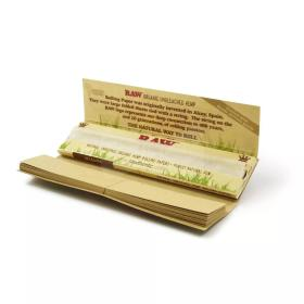RAW Connoisseur Organic King Size Slim, Papers mit Tips im Booklet