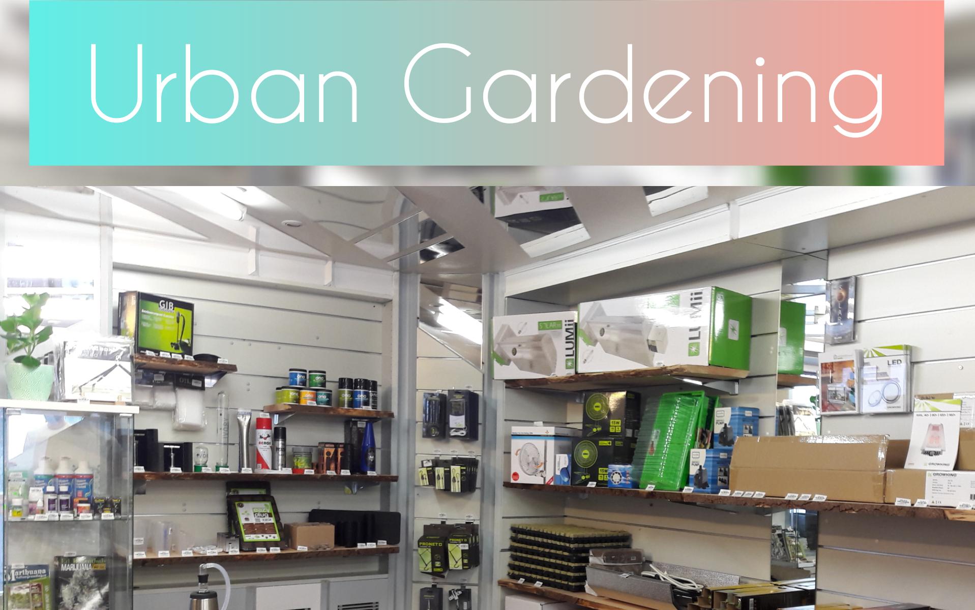 Unser Ivory Urban Gardening Bereich
